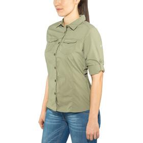 Craghoppers NosiLife Adventure II Camicia a maniche lunghe Donna, verde oliva